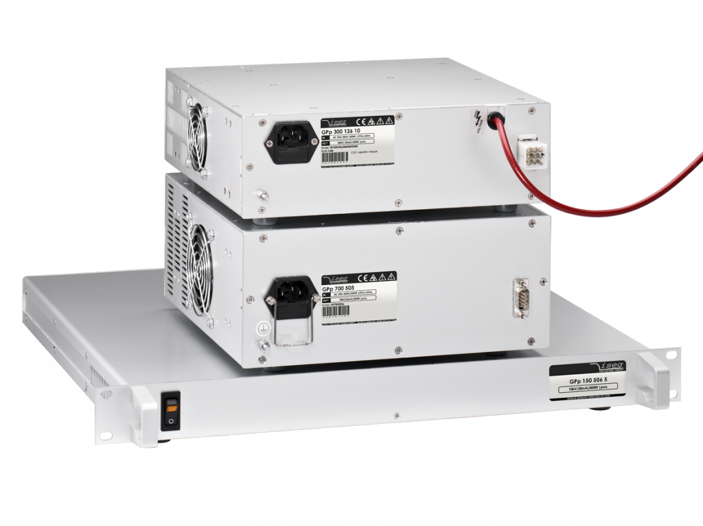 High Voltage for Capacitor Charging - iseg Germany