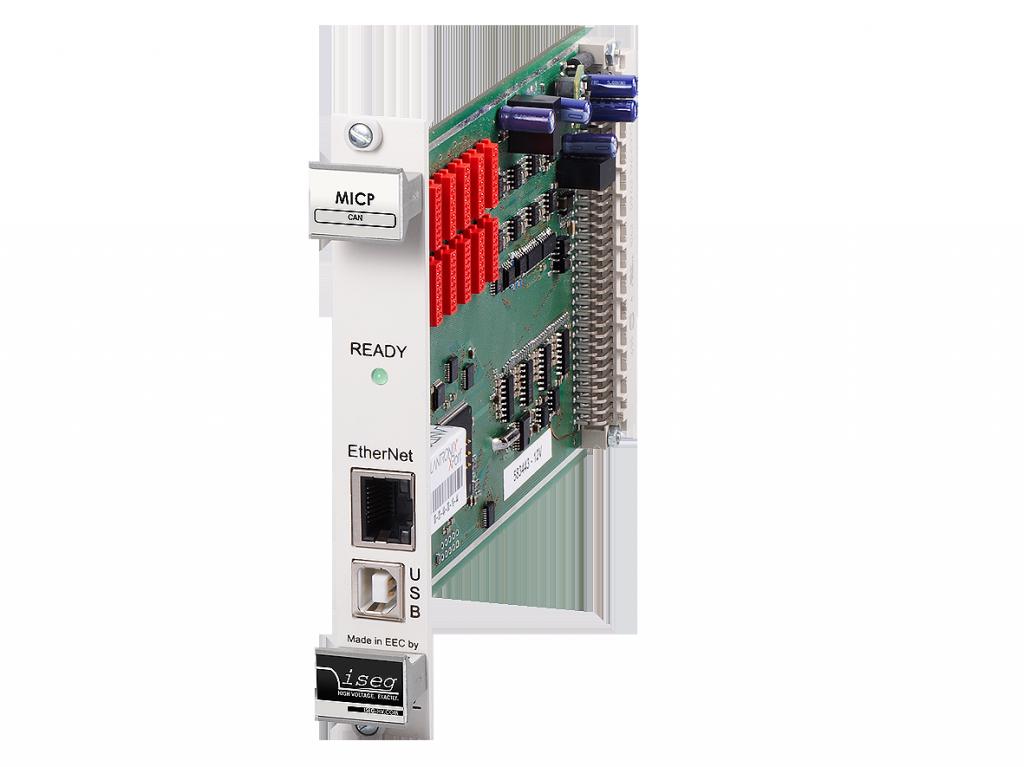 MMP-Controller - 20/24 Bit MMP System Controller - iseg Germany