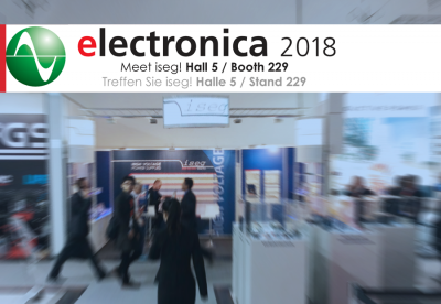 <p>iseg at ELECTRONICA 2018 in Munich<br></p>