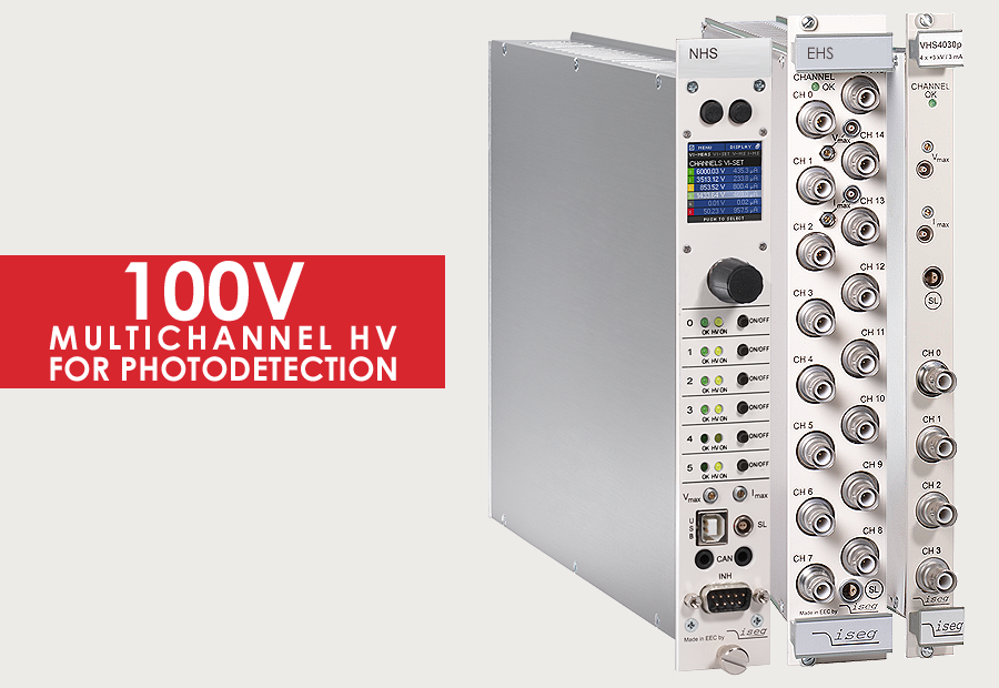 100V Multichannel-Modules for detectors