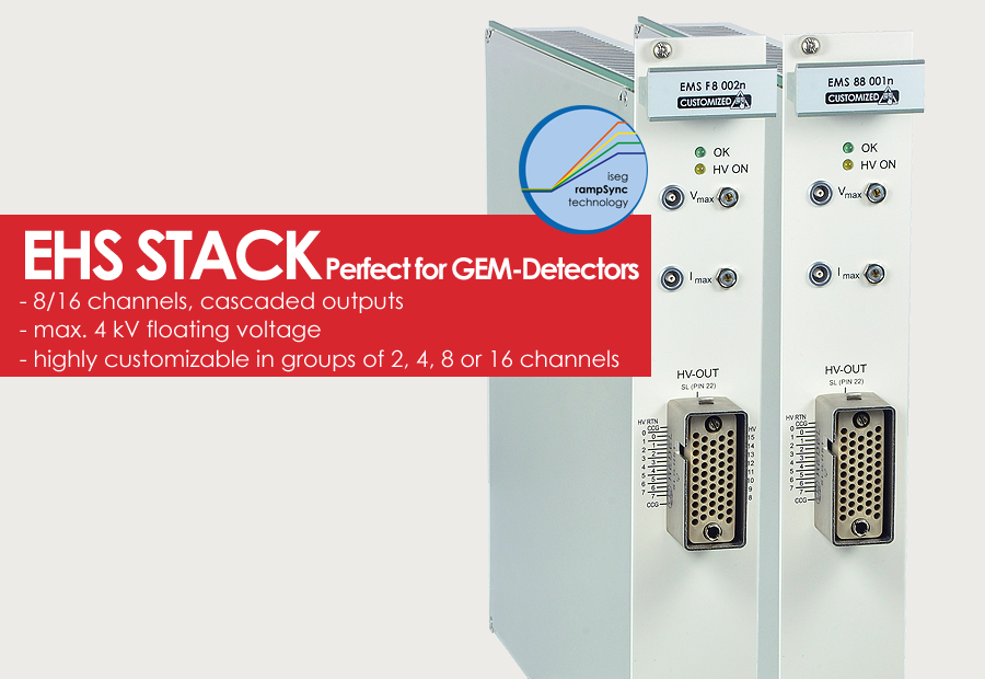 EHS STACK - Perfect for GEM Detectors