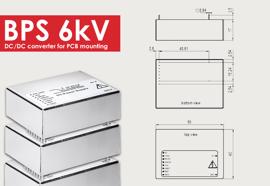 Now new: BPS with up to 6kV