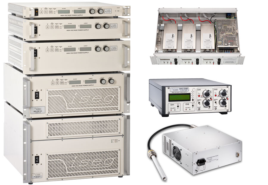 High Voltage Supply : High voltage power supply hvps iseg germany