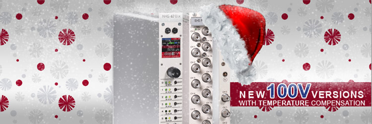 100V Multichannel modules with temperature compensation