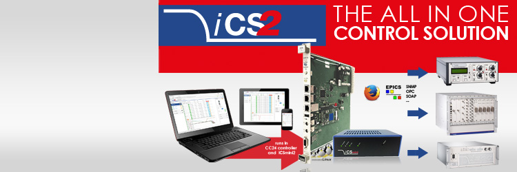 iCS2 High Voltage Power Supply control system