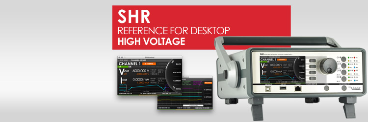 iseg High Voltage Desktop Power Supply SHR follows the successful SHQ series